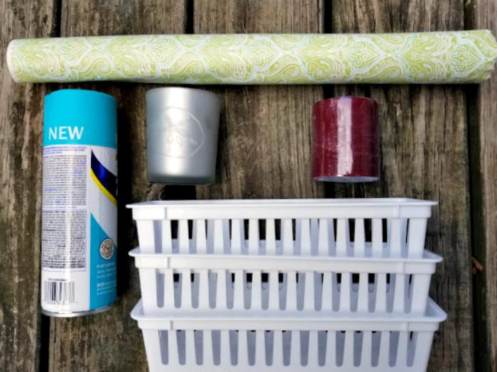 Easy $15 DIY Medicine Cabinet Makeover supplies
