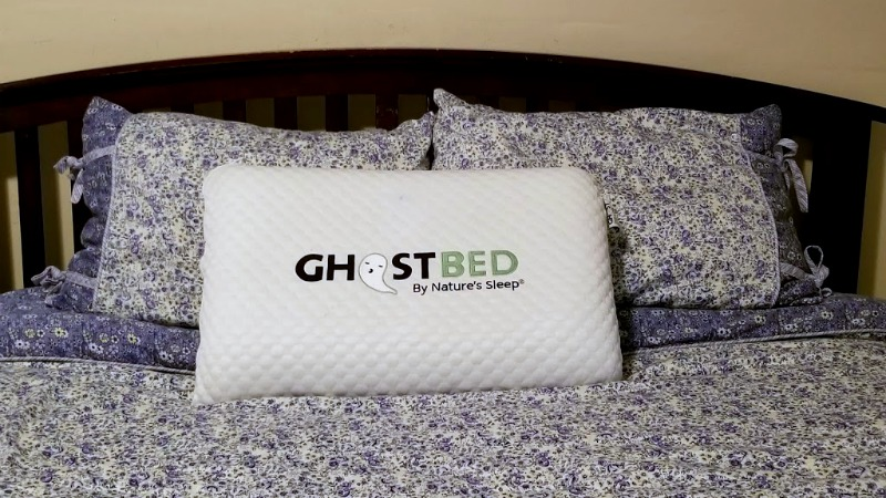 Better Sleep With My Memory Foam Cooling Pillow