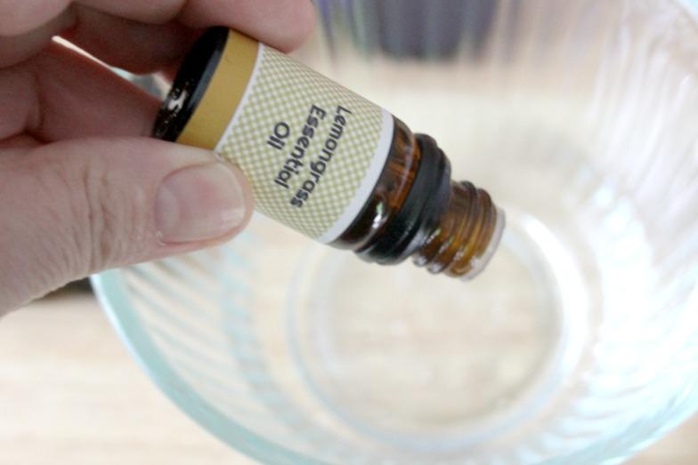 DIY Essential Oils Bug Repellent Spray Step 3