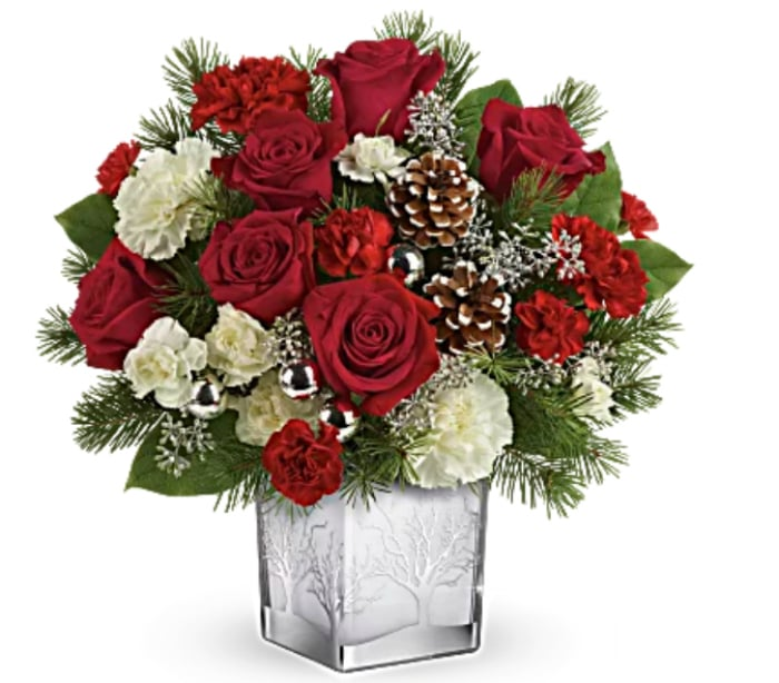 Top The Nice List This Christmas By Giving Teleflora Floral Arrangements 7