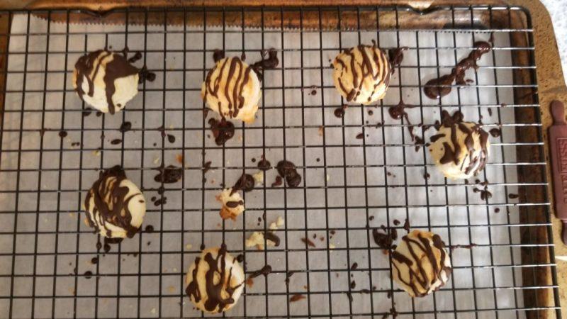Chocolate Mint Keto Shortbread Cookies Recipe Step 19
