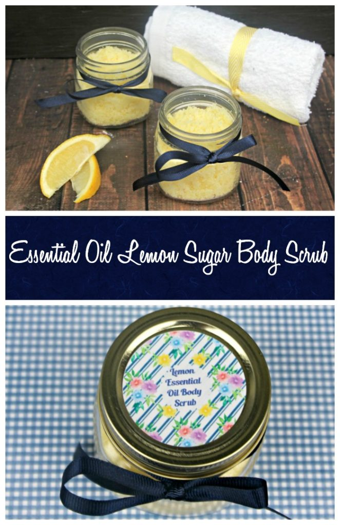 Because you definitely show more skin in the warmer months, you need to get your skin ready. That means you need to exfoliate and hydrate! My DIY Essential Oil Lemon Sugar Body Scrub beauty recipe is perfect!