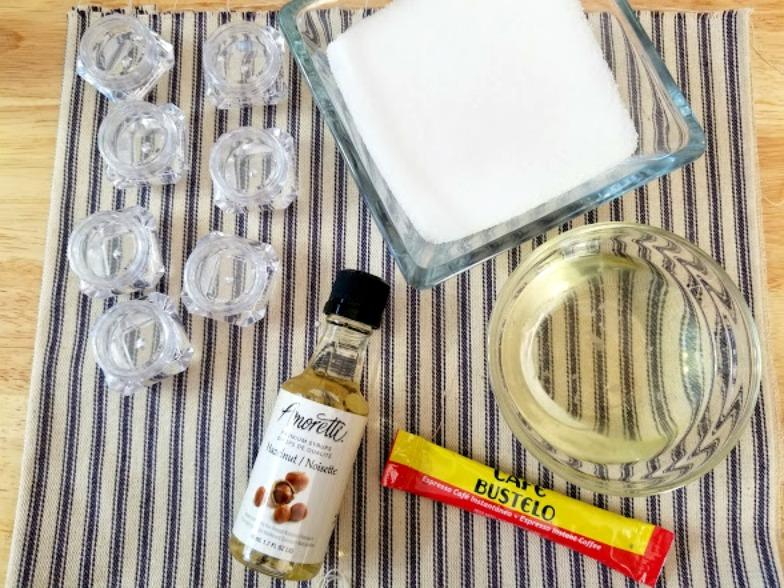 Hazelnut Coffee Lip Scrub Ingredients
