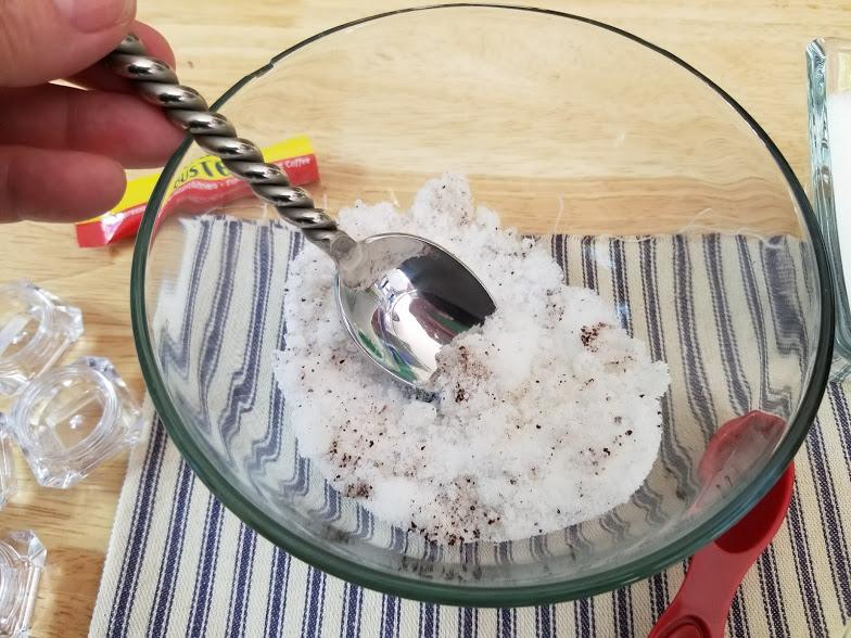 Hazelnut Coffee Lip Scrub Step 5
