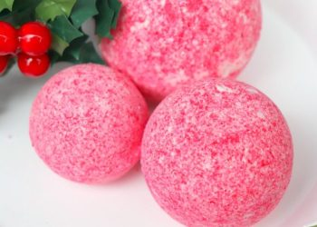 Easy Peppermint Essential Oils Bath Bath Bomb Recipe