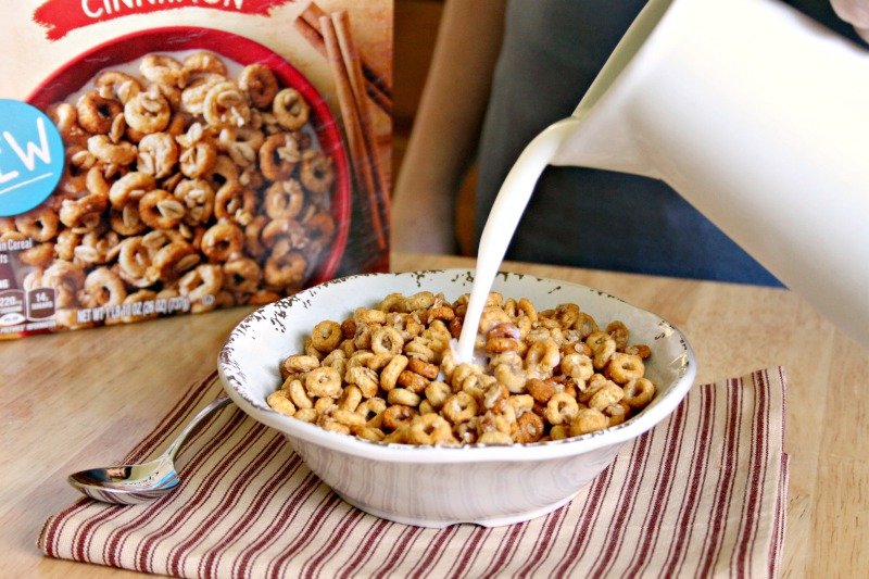 The NEW Cheerios Oat Crunch Is A Part Of Our Day...Every Day!