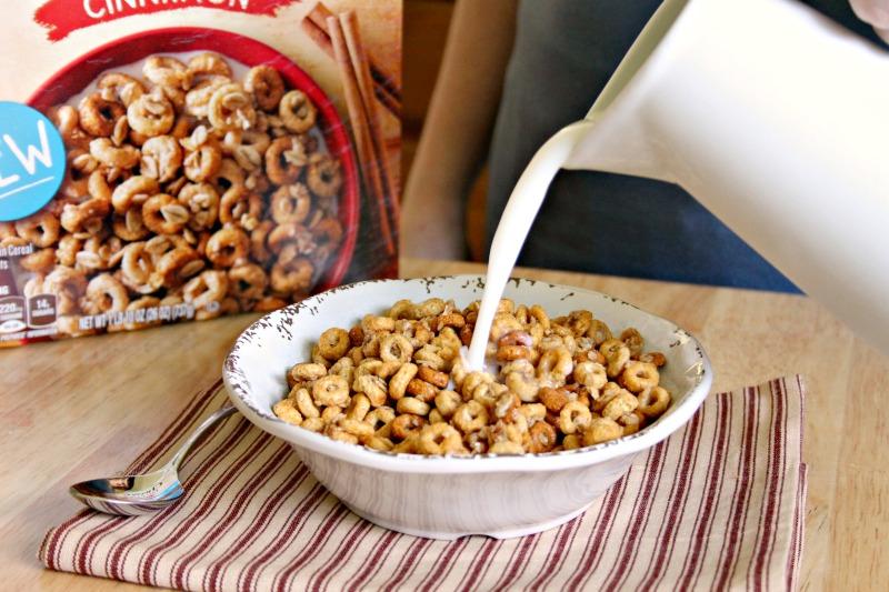 NEW Cheerios Oat Crunch milk