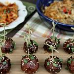 Slow Cooker Asian Sesame Turkey Meatballs 4