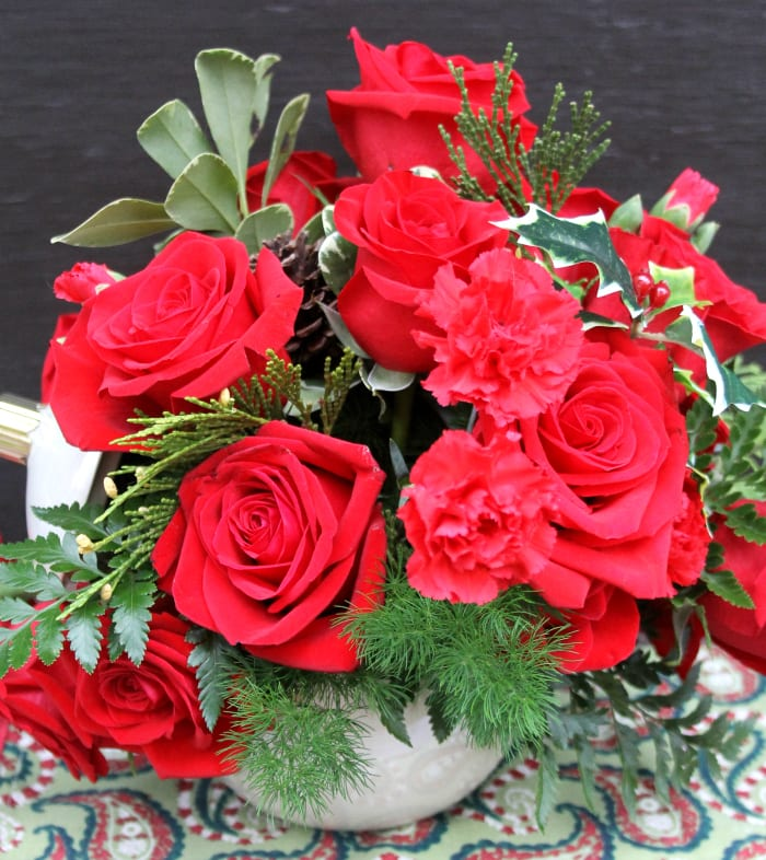 Top The Nice List This Christmas By Giving Teleflora Floral Arrangements 3