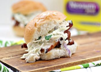 Bourbon Soaked Pork Belly Sliders With Spicy Coleslaw Recipe 5