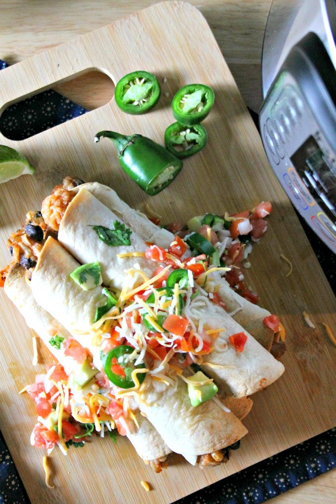 Instant Pot Chicken Taquitos Recipe 1