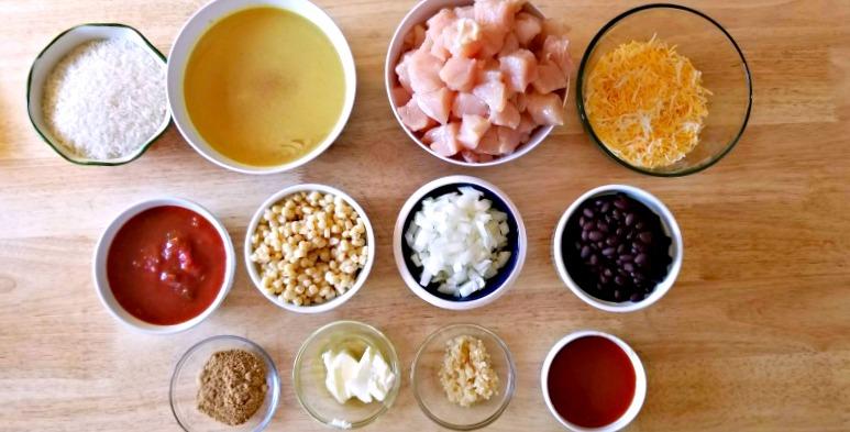 Instant Pot Chicken Taquitos Recipe Ingredients