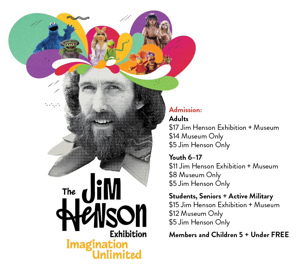 The Jim Henson Exhibition: Imagination Unlimited ticket prices