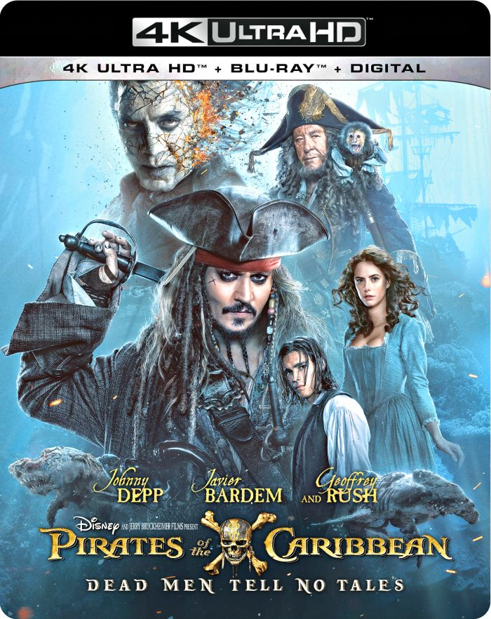 Pirates of the Caribbean Dead Men Tell No Tales box