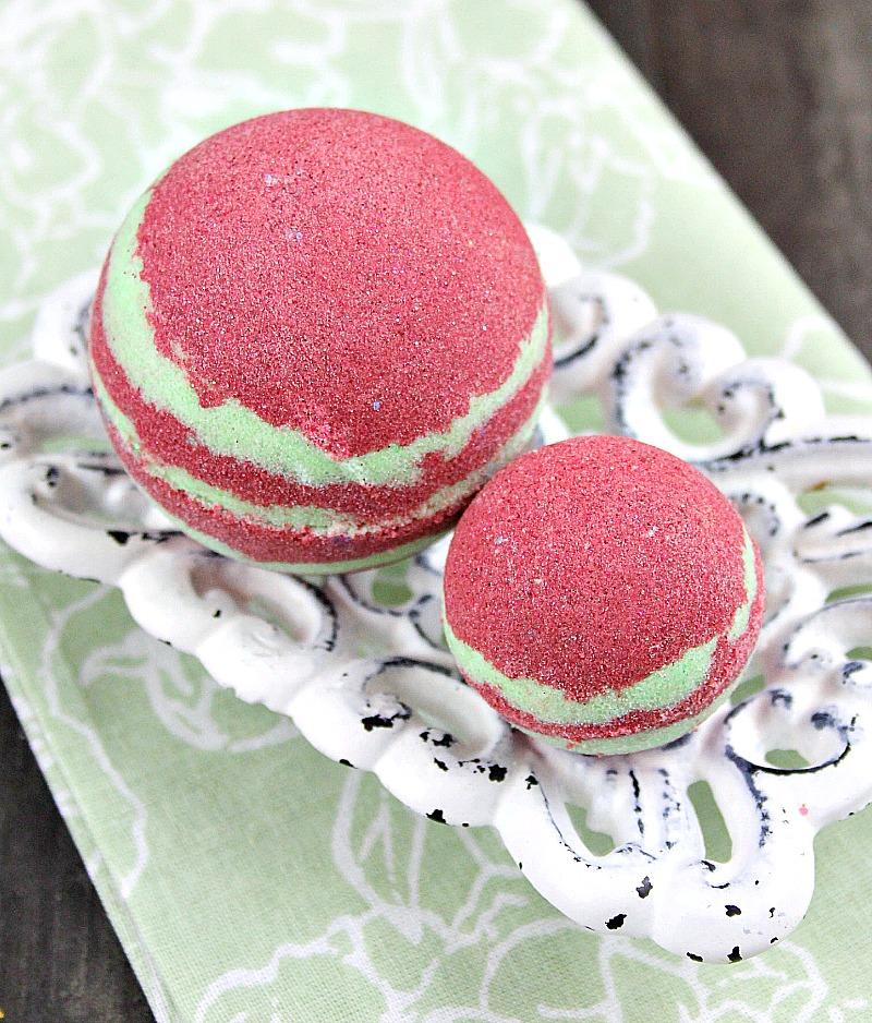 Pomegranate Martini Bath Bombs Recipe 3