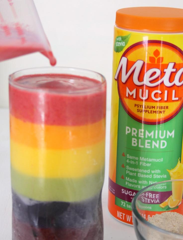 Greek Yogurt Rainbow Smoothie Recipe step 8