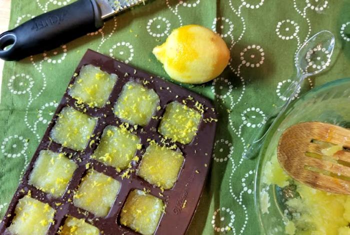 Lemon Sugar Body Scrub Cubes Recipe step8