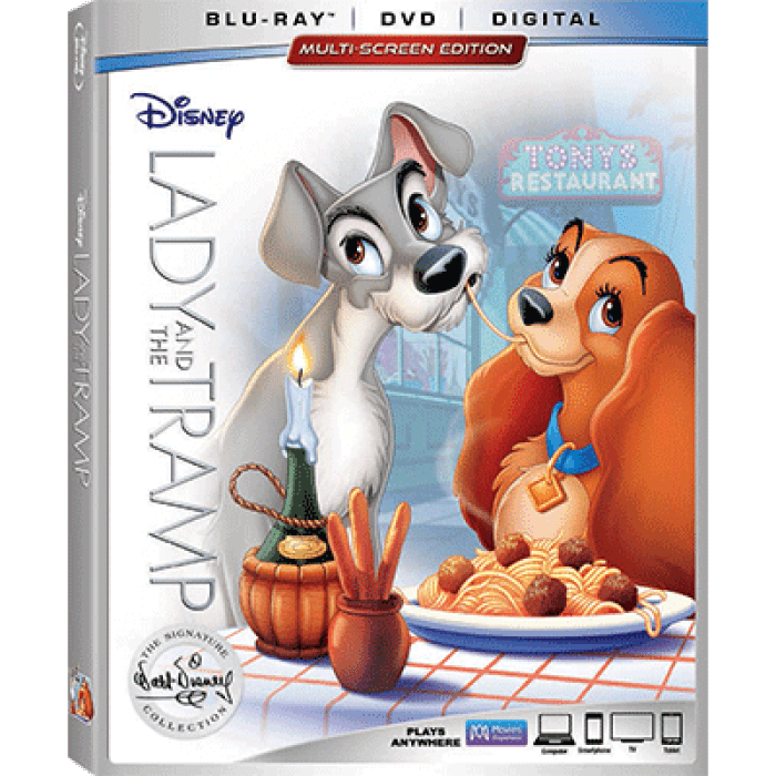 The Classic Lady And The Tramp Joins The Walt Disney Signature Collection