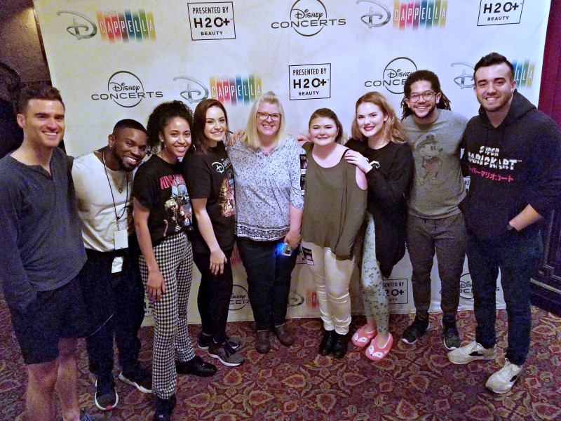 Disney's DCappella Live At Knoxville's Historic Tennessee Theater group photo