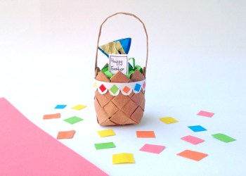 Fun Recycled Paper Easter Craft For Kids