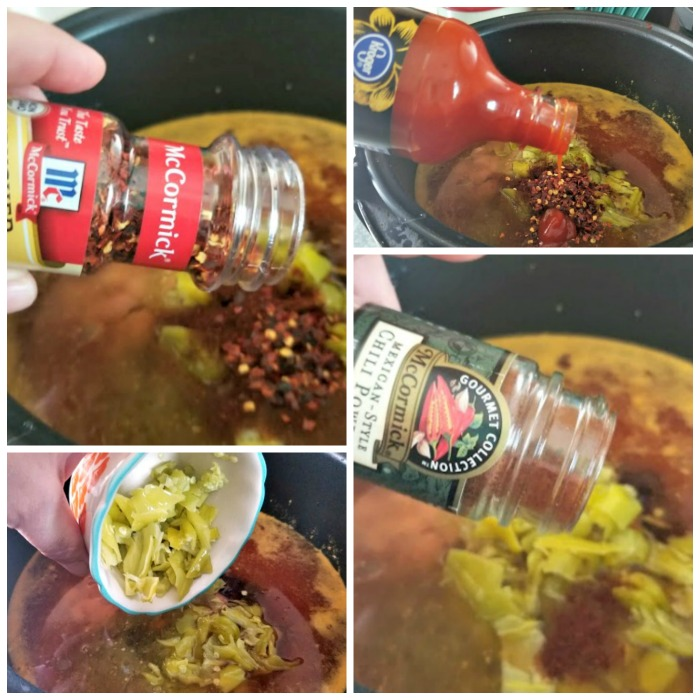 Spicy Crock Pot Sausage, Bean And Pasta Soup step 5
