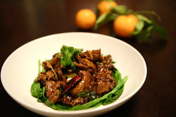 Who Needs Take Out When You Have The Chinese Food Soul Cookbook?! orange beef