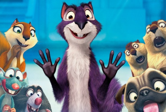 Go Nuts Because The Nut Job 2: Nutty by Nature Is Available On Blu-Ray And DVD Today!