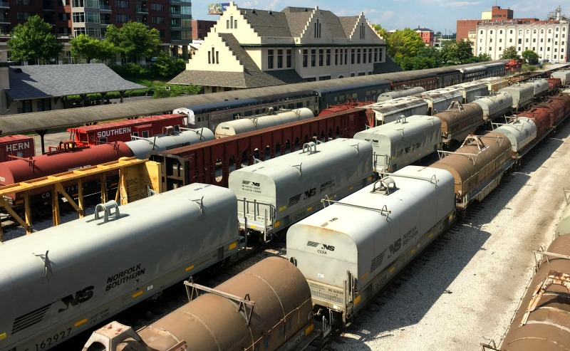 Be A Paranormal Investigator On The Haunted Knoxville Ghosts Tours trains
