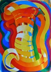Ribbons to Unite by Bernard Hoyes