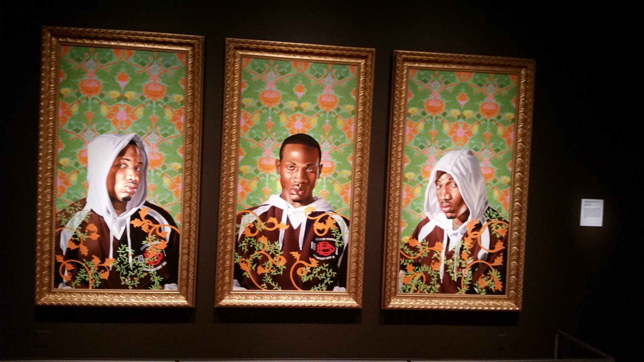 Kehinde Wiley Triple Portrait Of Charles I, 2007
