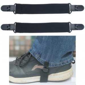 2pcs élastique moto biker bouts pantalon botte bretelles clips