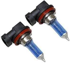 AERZETIX: Jeu de 2 ampoules à effet Xénon H11 12V 100W 5500K SUPER WHITE