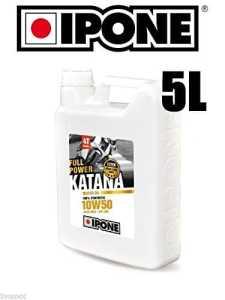 Bidon huile 5L IPONE Katana Full Power 10w50 lubrifiant moteur