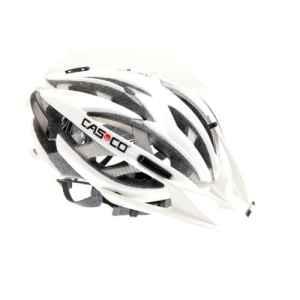 Casque de vTT mountain casco ares blanc