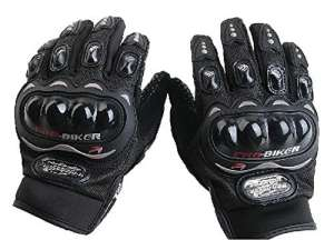 Gants de Moto /All- Doigt Gants d'équitation Extérieur Gants / Off-Road Gants équitation Gants/Locomotive Knight Gants-noir,M