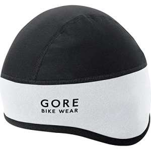 GORE BIKE WEAR, Unisexe, Bonnet chaud et coupe-vent, GORE WINDSTOPPER, UNIVERSAL WS, Taille 60-64, Blanc/Noir, HHELMF019903