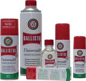 Huile universelle Ballistol Spray 400ml, Lot de 20