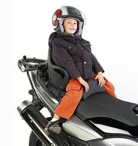 Moto siège enfant Suzuki Burgman 125 Givi S650 noir