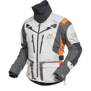 Pre Order 2017 Rukka Orivesi Motorcycle Jacket White/Orange