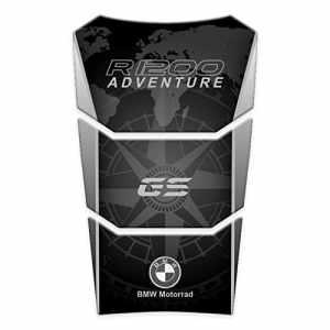 TANK Pad paraserbatoio résine 3d pour bMW r1200gS adventure lC 2014–16gp-141 Triple Black