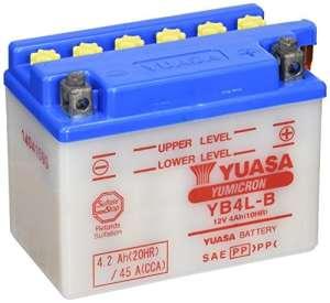YUASA YB4L-B Batterie de Moto
