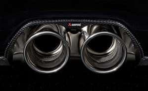 Alfa Romeo – Silencieux Race Titane Akrapovic Porsche Gt3 Rs