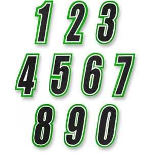 American kargo number green/black #1 – 3550-0258 – American kargo 35500258