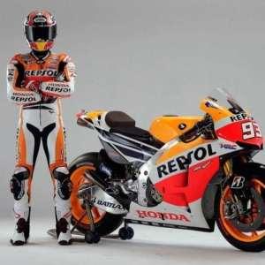 Honda Moto Cuir Combinaison de moto dainese Alpinestars fabriqué sur mesure n'importe quelle couleur/Taille avec gratuit Nom d'impression