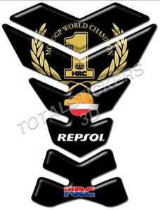 Protège-réservoir en résine 3D, code PE-025, pour Honda Repsol HRC