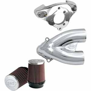 S&s tuned induction 2-1 air cleaner for cv-carb/stoc… – S&s cycle 10101079