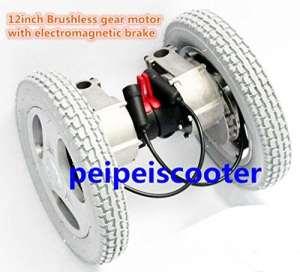 DIXI 30,5cm avec moteur Brushless à Hub Electro Magnétique Frein moteur 250W 6,5kg pour un côté