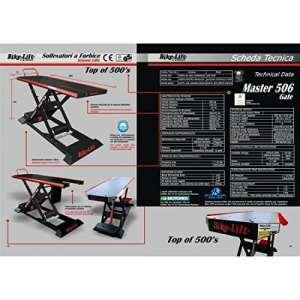 Electro-hydraulic lift 506 hc / black/red – ma-506-003 – Bike lift 41100144
