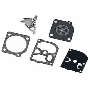 HIPA Kit Joints et Membranes de Carburateur RB-38 pour Tronçonneuse Stihl 025 FS200 FS250 FS350 Dolmar PS34 PS35 PS340 PS341 PS342 PS343 ZAMA