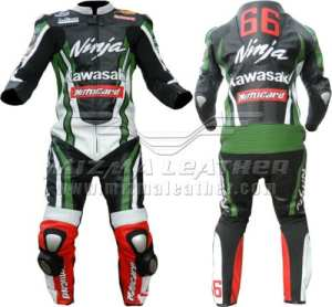 Kawasaki Ninja Moto Cuir Combinaison de moto dainese Alpinestars fait sur mesure fabriqué sur mesure n'importe quelle couleur/Taille